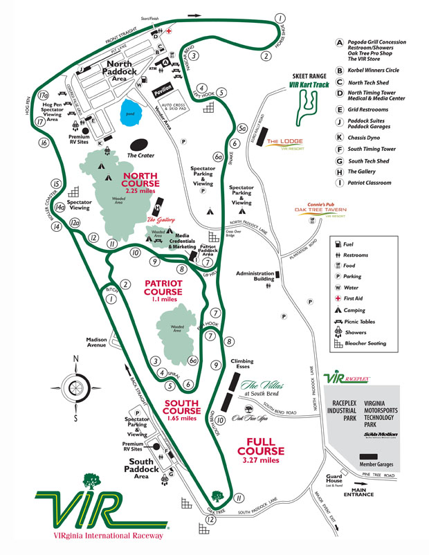 racetrack Map